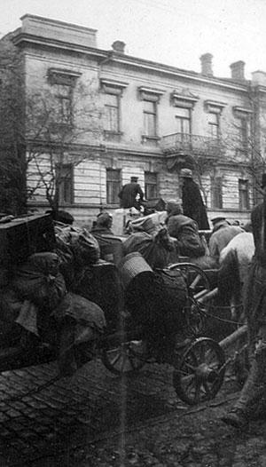 Так проходила эвакуация в Одессе.
