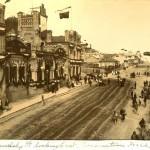 Улицы Владивостока в дни коронационных торжеств. 1896 год.