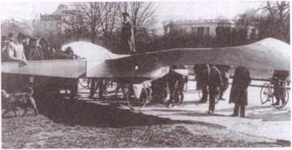 На авиационных соревнованиях. 1910