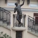 Памятник Сергею Исаевичу Уточкину в Одессе