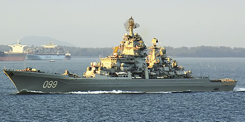 Дремлющий медведь просыпается. Возрождение ВМФ России?