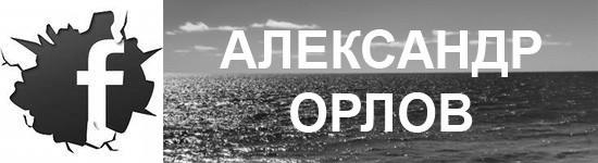 Страничка Александра Орлова на Фэйсбуке