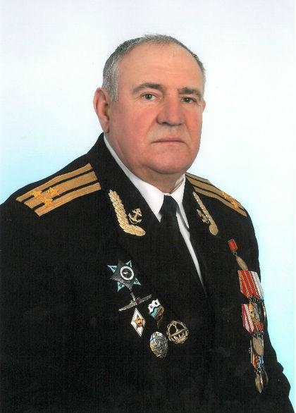 Капитан 1-го ранга в отставке Самохвалов Александр Иванович.