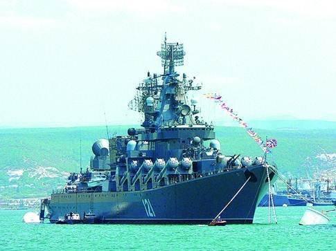 Крейсер «Москва». Флагман российского ЧФ и сегодня остается самым мощным кораблем на Черном море