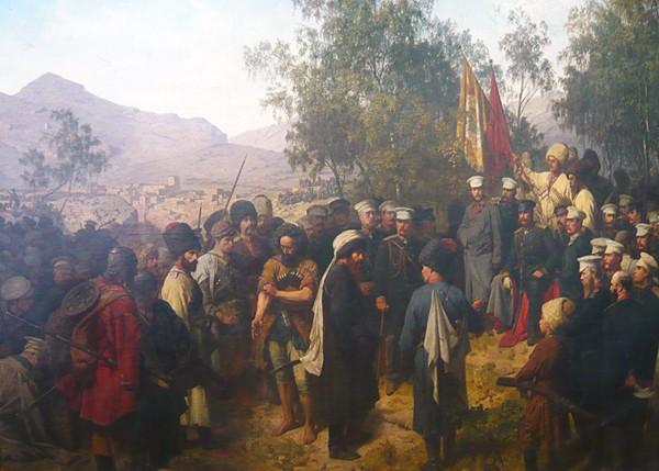 Теодор Горшельт - Пленение Шамиля