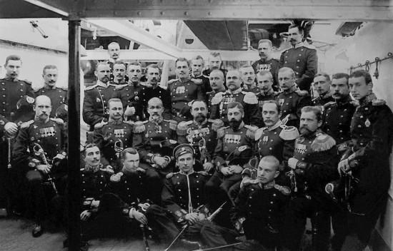 Экипаж броненосца «Князь Суворов»