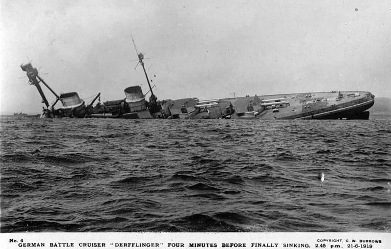 Затопление Флота открытого моря