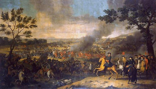 Сражение под Полтавой 1709 год