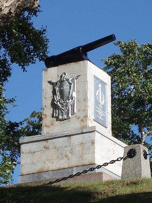 Памятник героям 3 батареи.