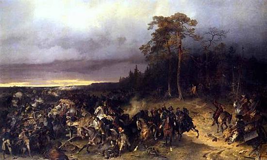 Битва при Лесной.
