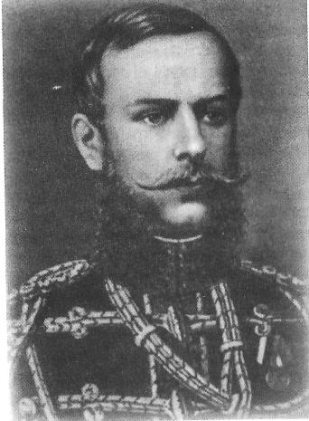 М.Д. Скобелев в год окончания академии Генерального штаба