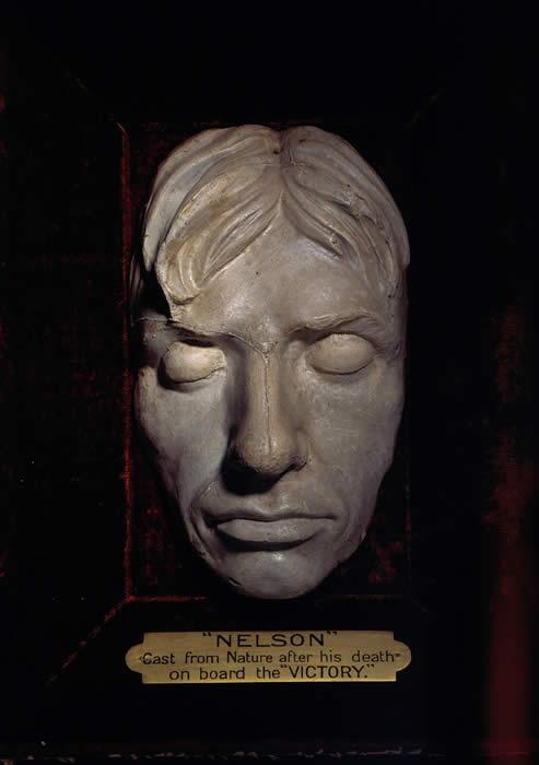 Посмертная маска Нельсона