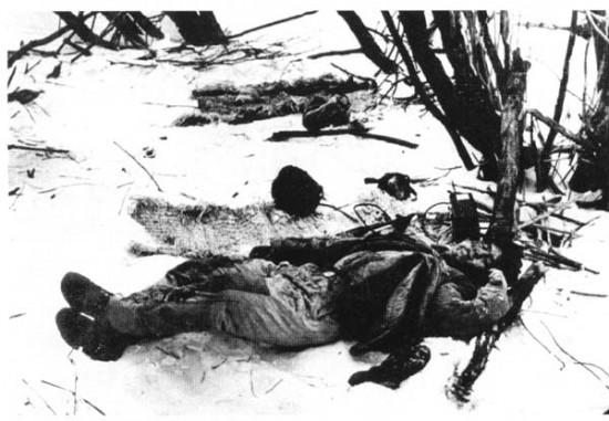 На позиции китайского батальона. 2 марта 1969.