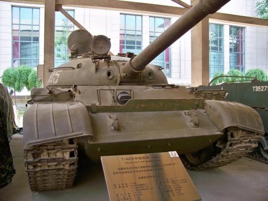 Танк Т-62 №545 полковника Леонова в музее НОАК в Пекине