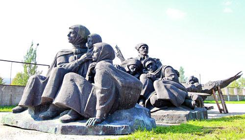 Сморгонь.Мемориал героям Первой мировой войны.