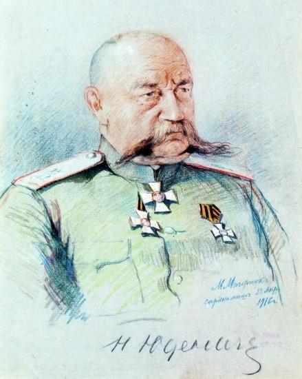 Генерал Николай Николаевич Юденич узнав