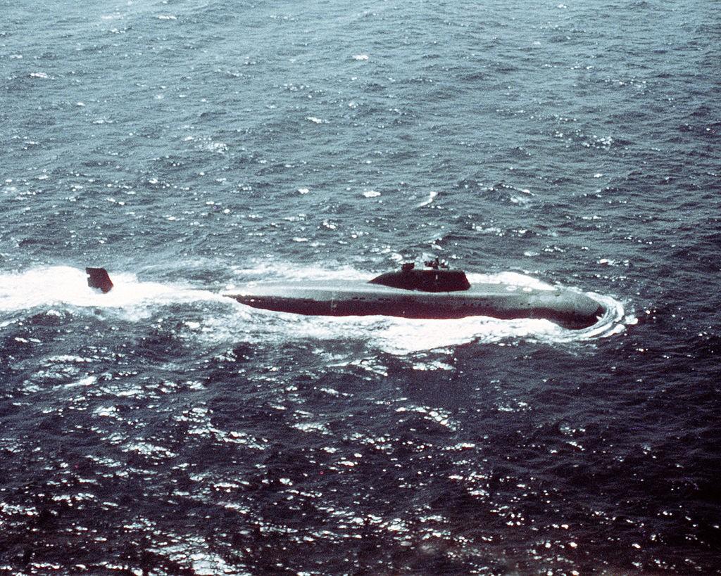 Подводная лодка проекта 671.