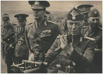 Маршал Антонеску и Король Михай I.