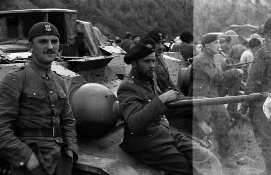 Очень интересна и судьба оказавшихся интернироваными в Венгрии. Полулегально из Румынии выехало на Запад 2186 офицеров.