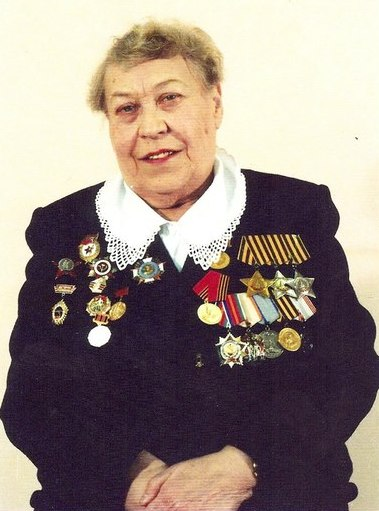 Полный Кавалер ордена Славы Журкина (Киёк) Надежда Александровна