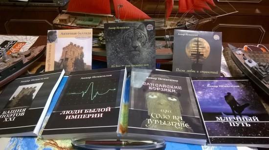 Рассказы, песни, стихи. Почитателям таланта можно приобрести книги и диски лично у автора.
