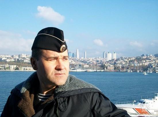 Гвардии капитан 2 ранга Сергей Соломаха.