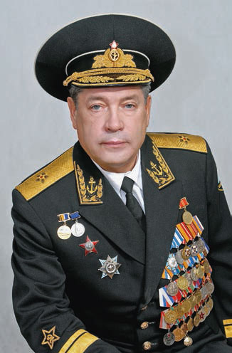 Контр-адмирал Александр ДЬЯКОНОВ