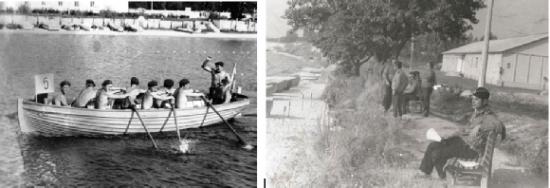 Водно-спортивная база КВВМПУ на Киевском море. Лето 1978 года.