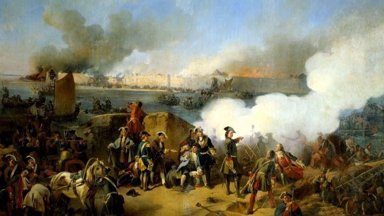 Штурм крепости Нотебург 11 октября 1702 Александр КОЦЕБУ