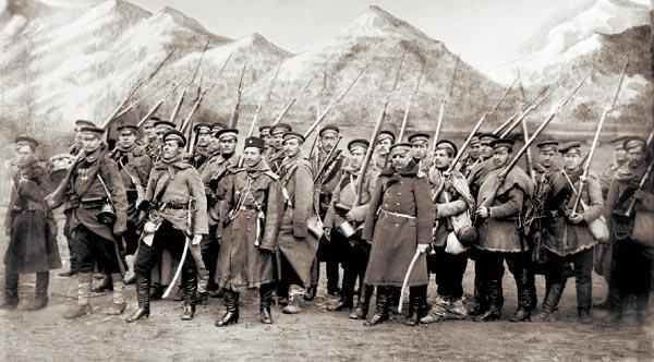 Суздальский полк в авангарде действующей армии на форсированном марше к Адрианополю в кампании 1877—1878 годов