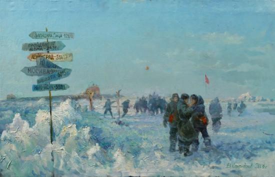 Всплытие АПЛ К-3 на Северном полюсе