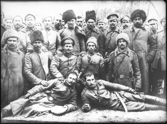 Артиллеристы на Кавказе