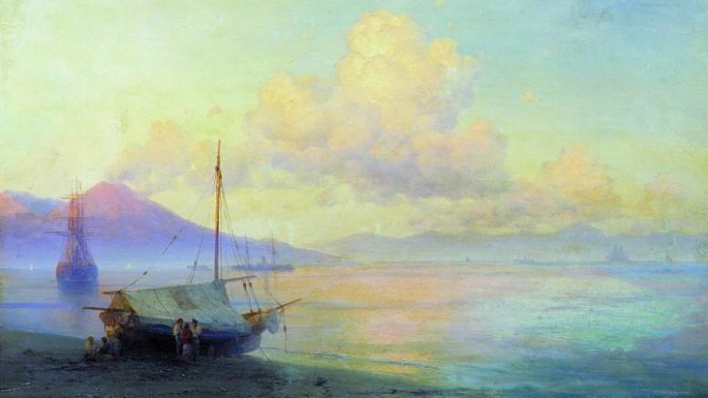 Иван Константинович Айвазовский — Неаполитанский залив ранним утром. 1893 г.