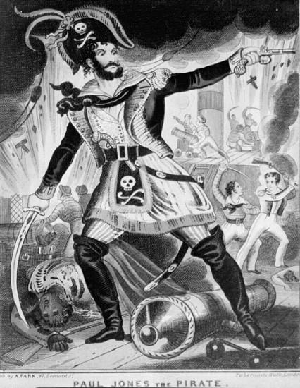 Карикатура на Джонса в английской прессе