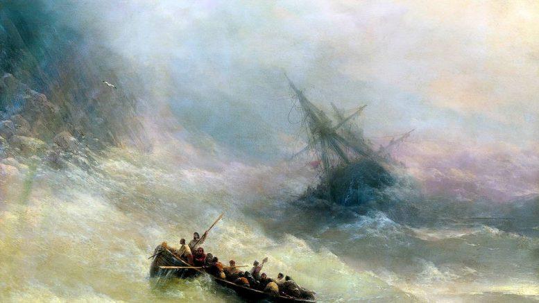 Иван Константинович Айвазовский — Радуга. 1873 г.