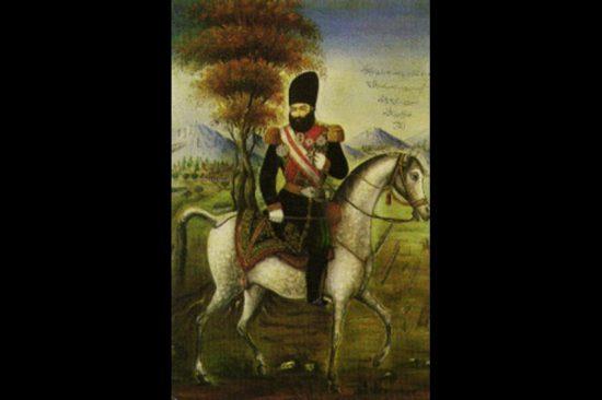 Аббас-Мирза в военном мундире. Неизвестный персидский художник начала XIX века Фото: репродукция/Родина