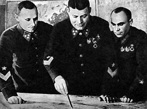 П.И.Бородин, Ф.Я.Костенко, К.А.Гуров.