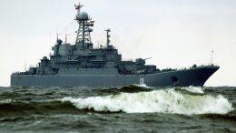 Большой десантный корабль Балтийского флота «Королев»