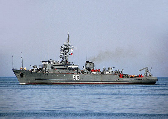 Морской тральщик «Ковровец»