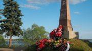 Памятник А.К.Панкратову в Новогороде