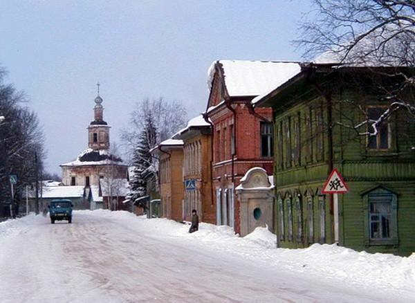 Современное фото с. Красноборска Архангельской области (до 1937 года территория Вологодской губернии)