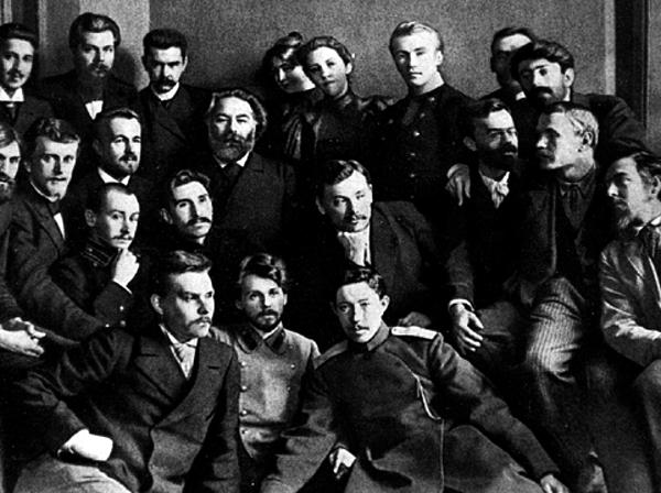 А.И.Куинджи с учениками. Фото 1897 г.