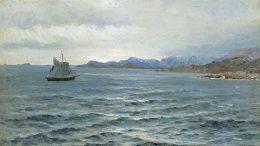 А.Борисов. «У берегов Новой Земли». 1896 г.