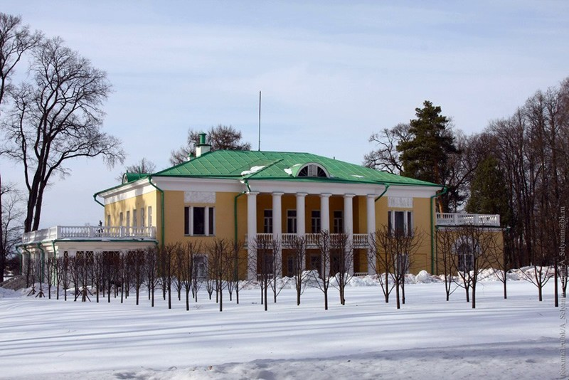 Горки ленинские, где в 1919 г. произошла встреча А.А.Борисова с В.И.Лениным