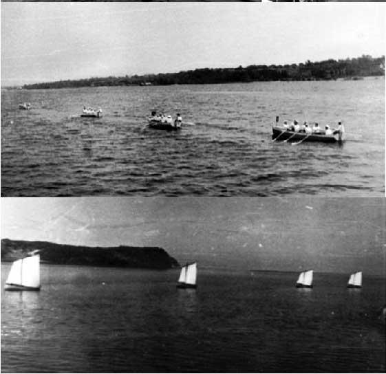 На вёслах и под парусами... Каневское водохранилище. Июль 1977 года
