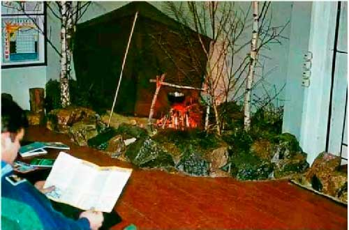 «Уголок туриста». КВВМПУ, 1978 год.