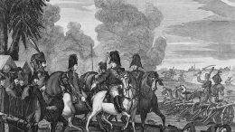 Сергей Фёдоров. Гравюра по рисунку Доминико Скотти. Победа при Тарутине 6 (18) октября 1812 года.