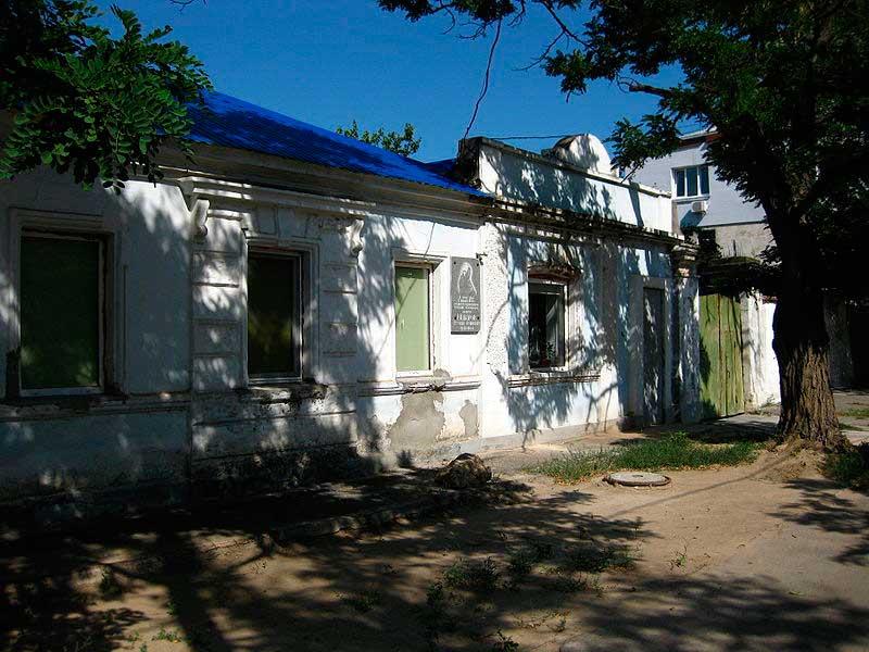 Дом в Николаеве, в котором родился С.О. Макаров
