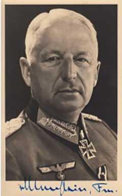 Хвастливый фельдмаршал Манштейн