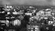 Вид на Подол с Андреевского спуска. Март 1970 г.